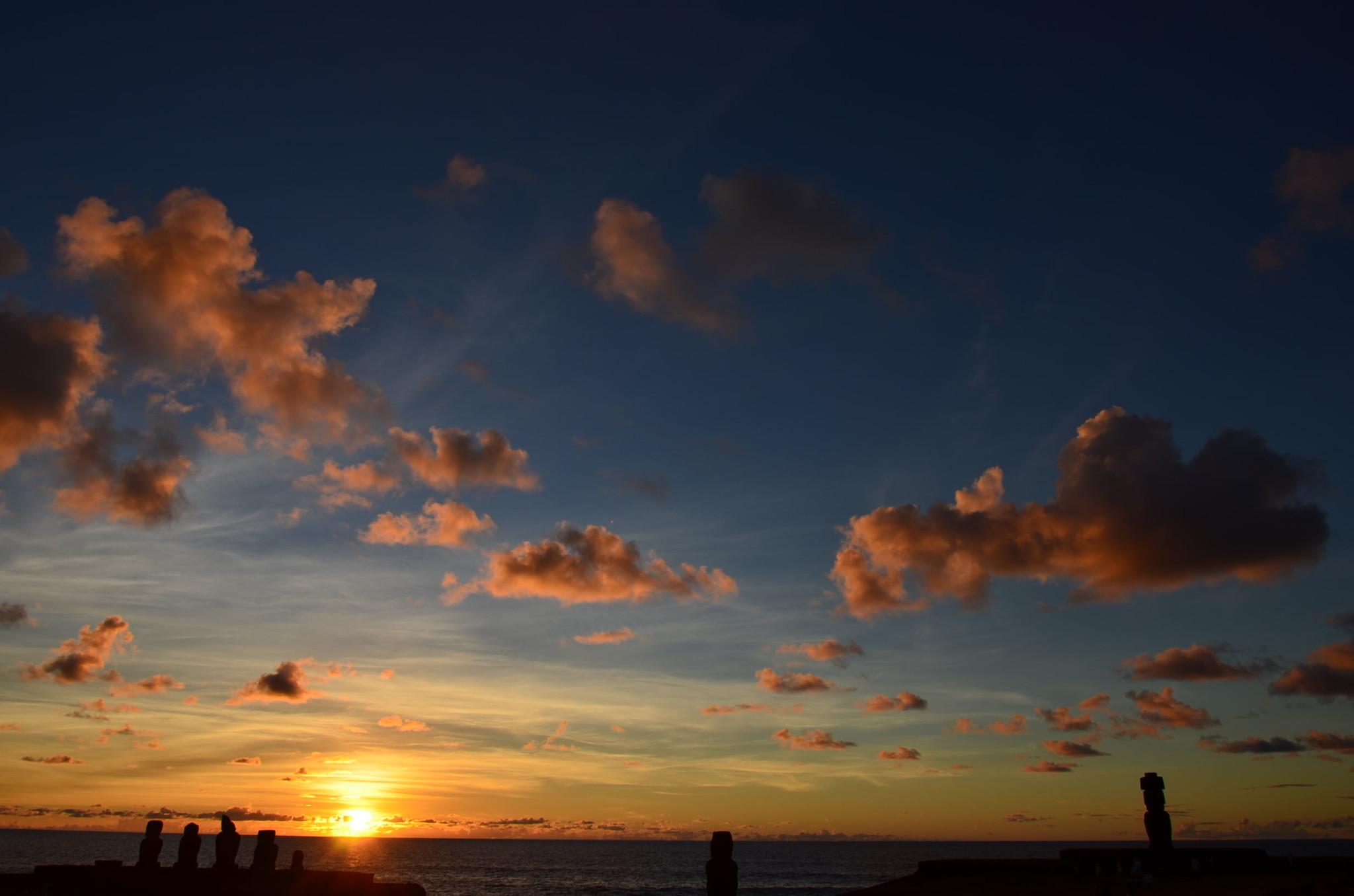 タハイ儀式村、夕日スポット、本当に素晴らしい