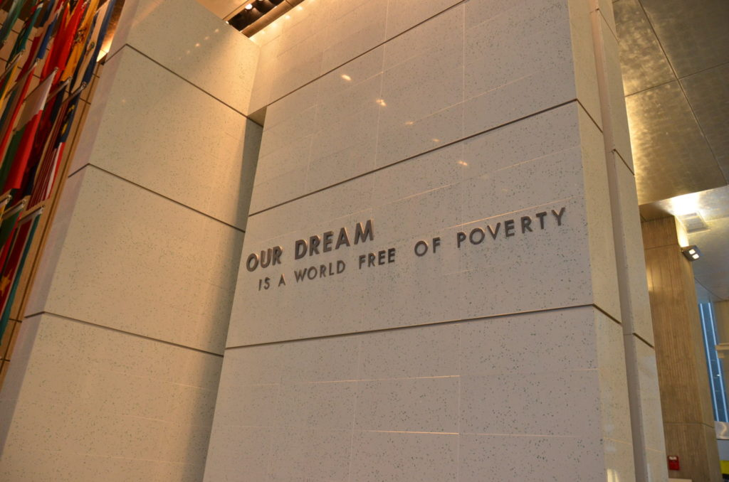 世界銀行。我々の夢は、貧困の撲滅